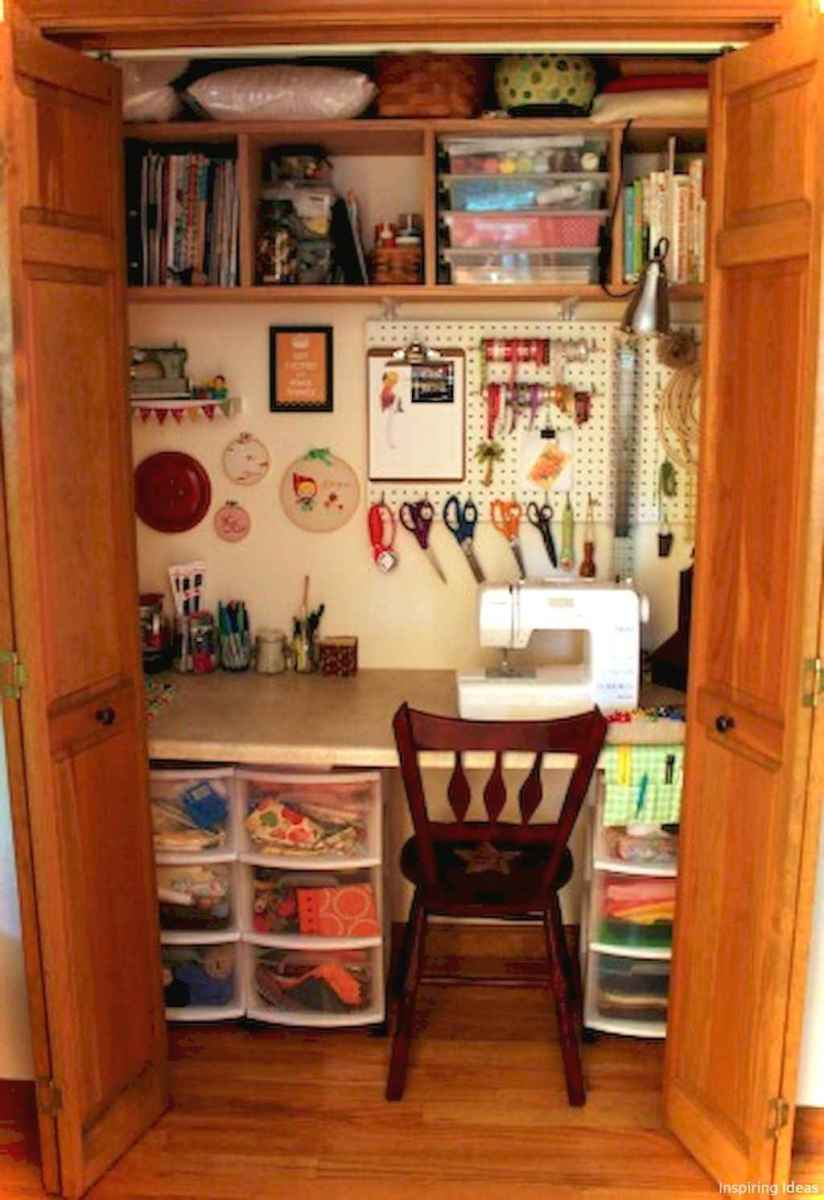 Beautiful 19 diy craft room ideas for small spaces