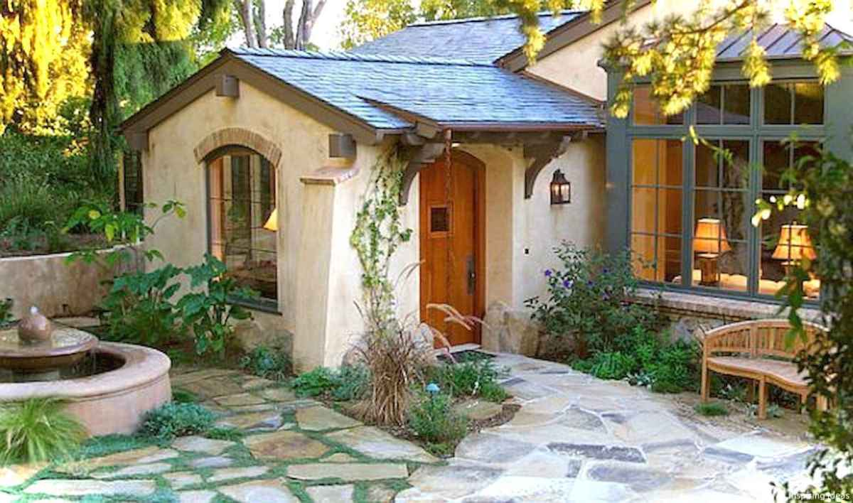 Charming 07 small cottage house exterior ideas