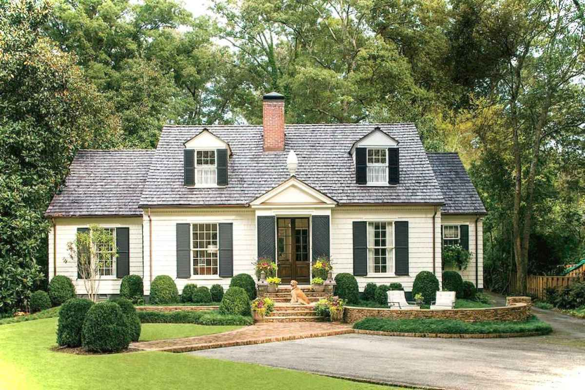 Charming 08 small cottage house exterior ideas