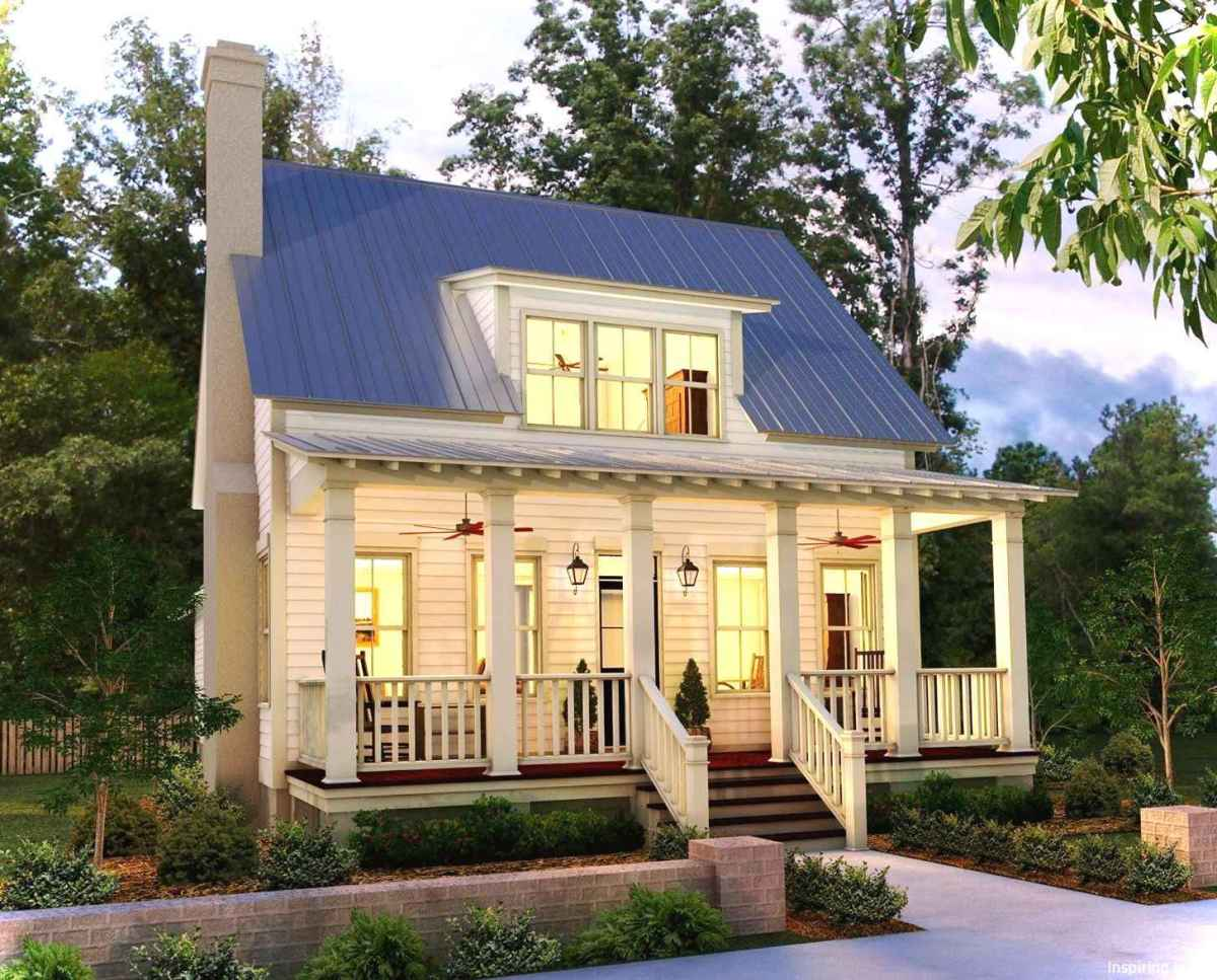 Charming 20 small cottage house exterior ideas