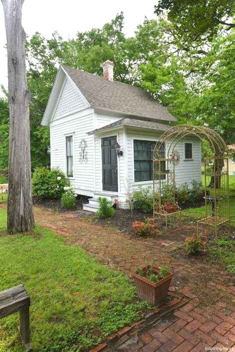 Charming 31 small cottage house exterior ideas