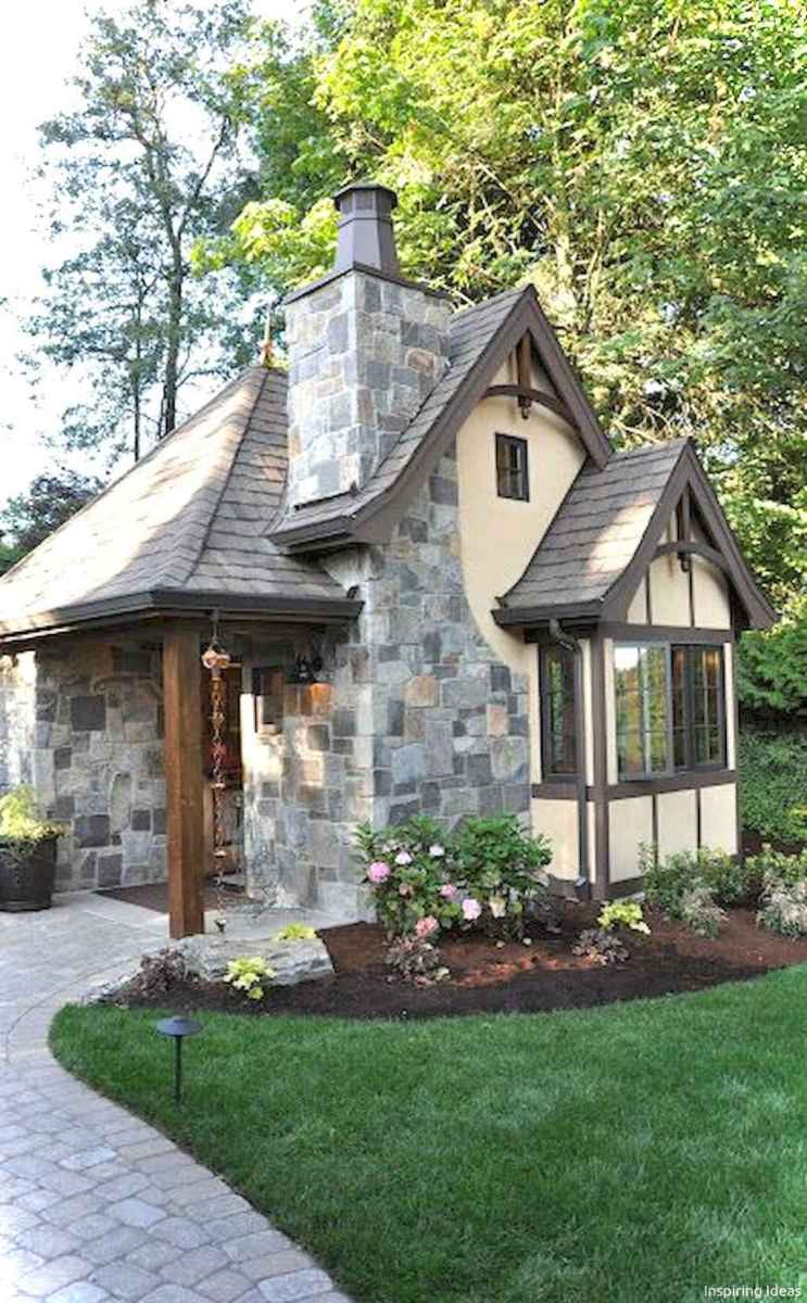 Charming 52 small cottage house exterior ideas