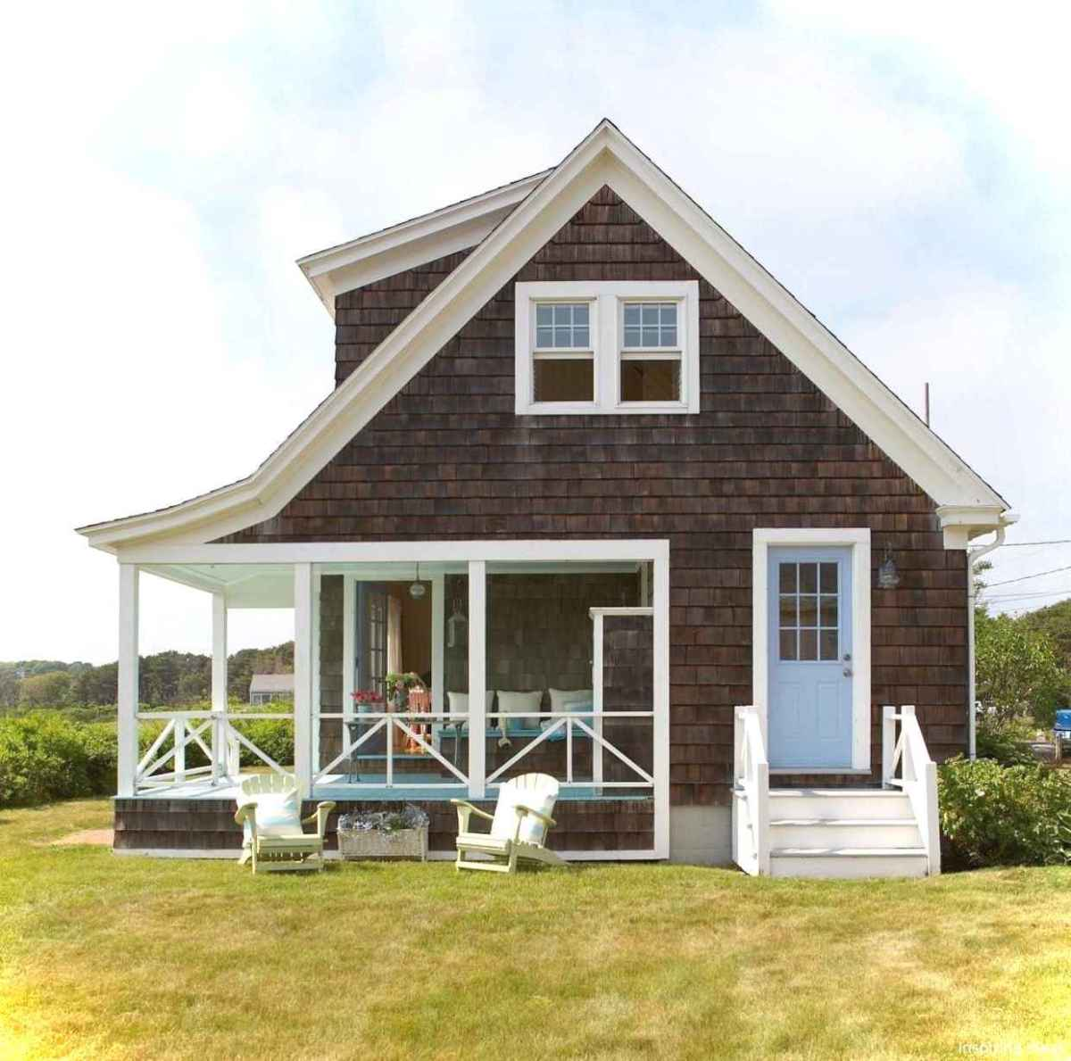 Charming 60 small cottage house exterior ideas