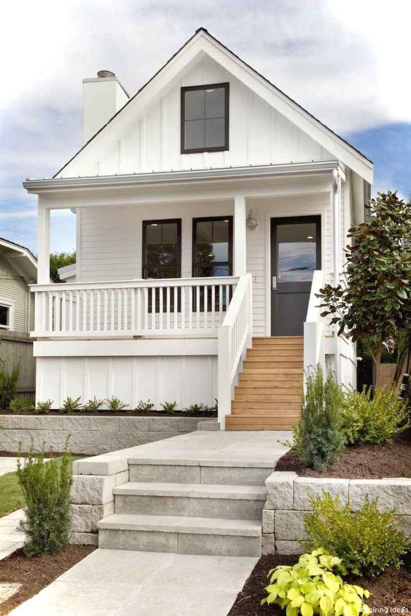 Charming 66 small cottage house exterior ideas