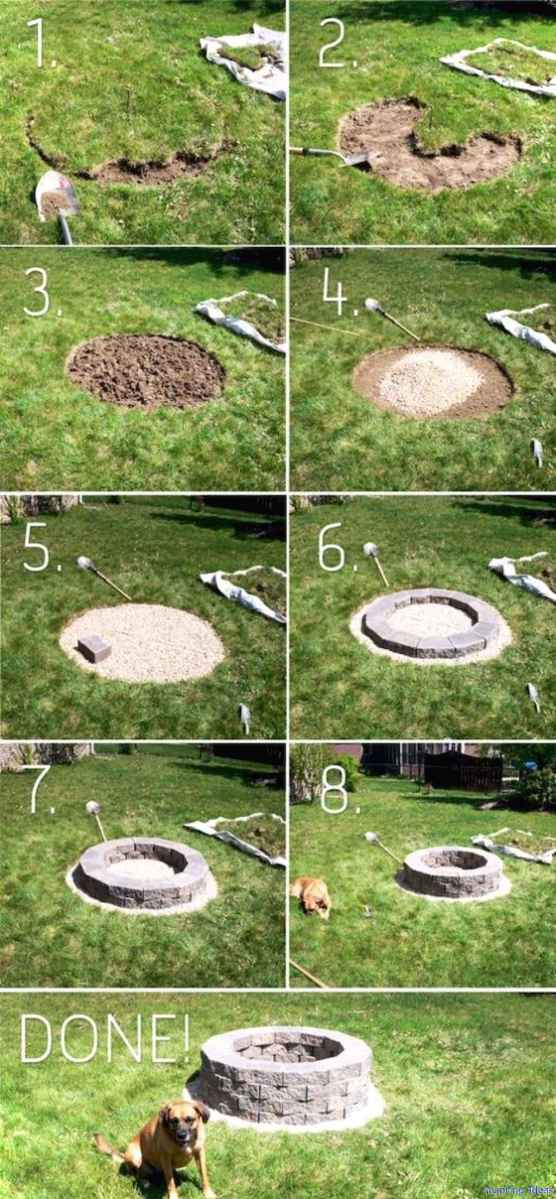 Creative diy project for the home backyards 10