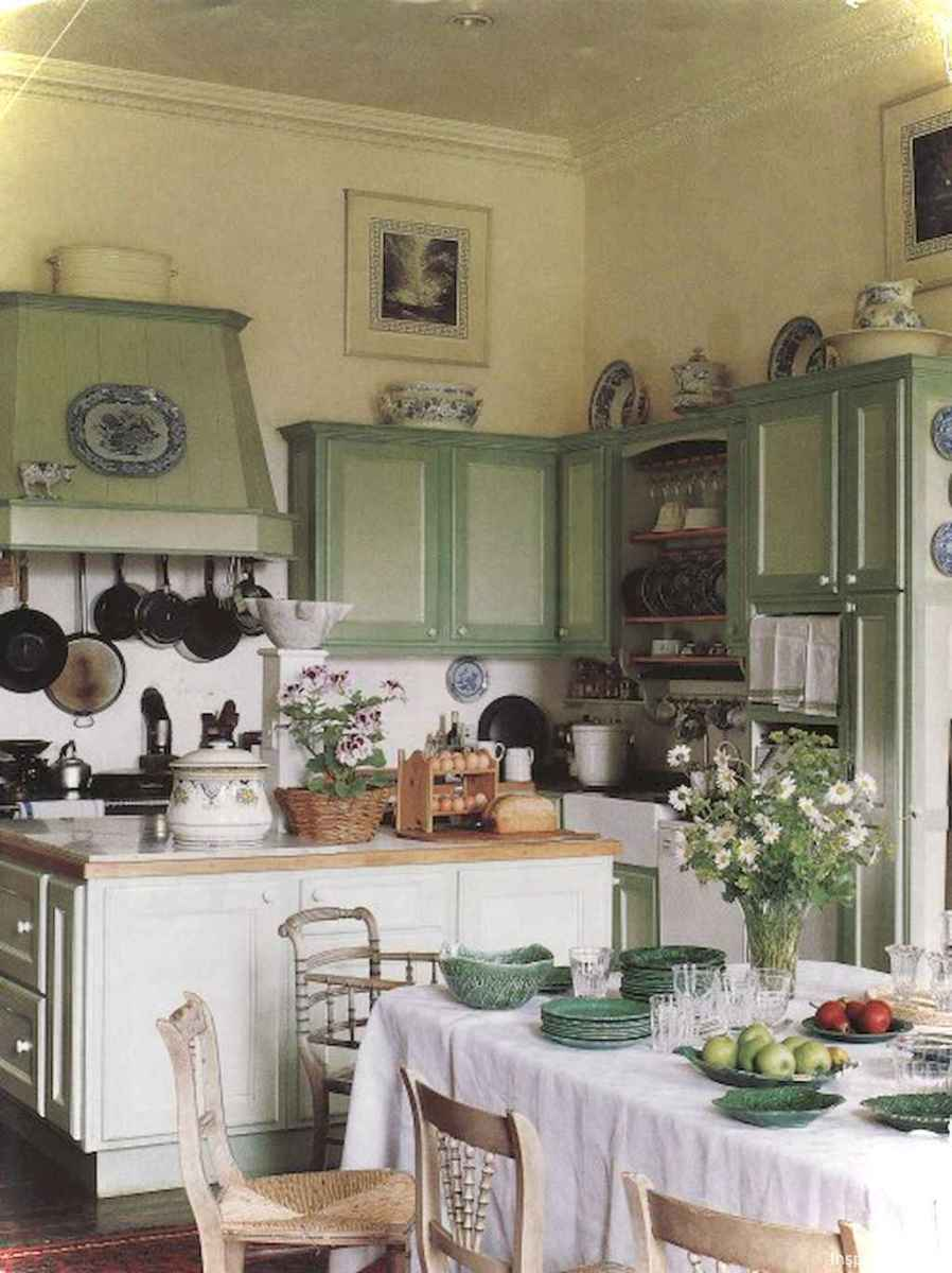 Genius small cottage kitchen design ideas012