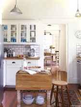 Genius small cottage kitchen design ideas029