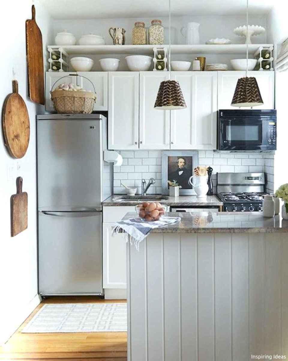 Genius small cottage kitchen design ideas034