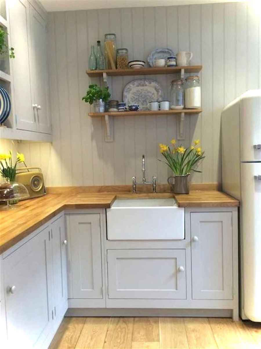 Genius small cottage kitchen design ideas044