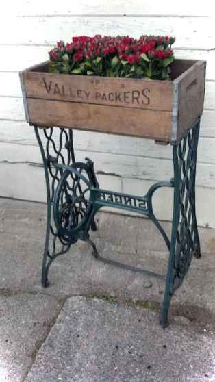 Vintage front porches furniture ideas 32