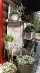 Vintage front porches furniture ideas 36