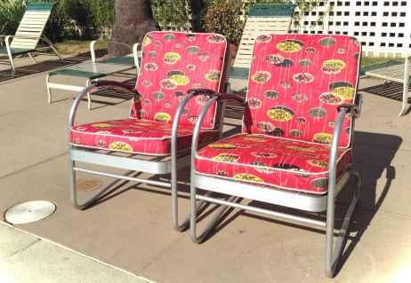 Vintage front porches furniture ideas 38