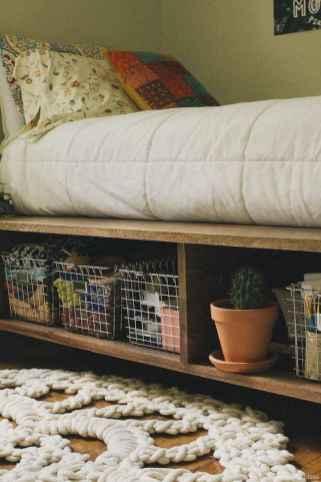 05 genius rustic storage bed design ideas