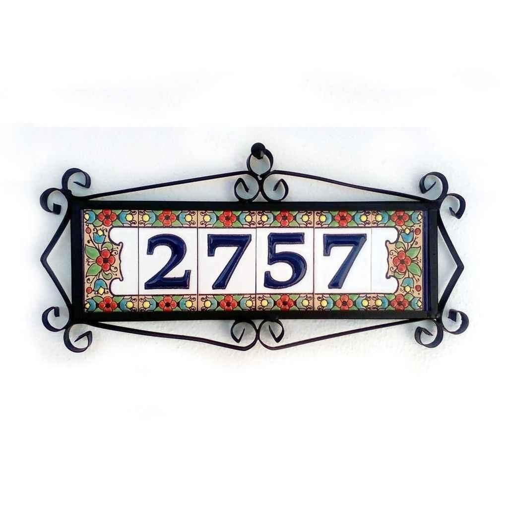 07 awesome diy modern address plate design ideas