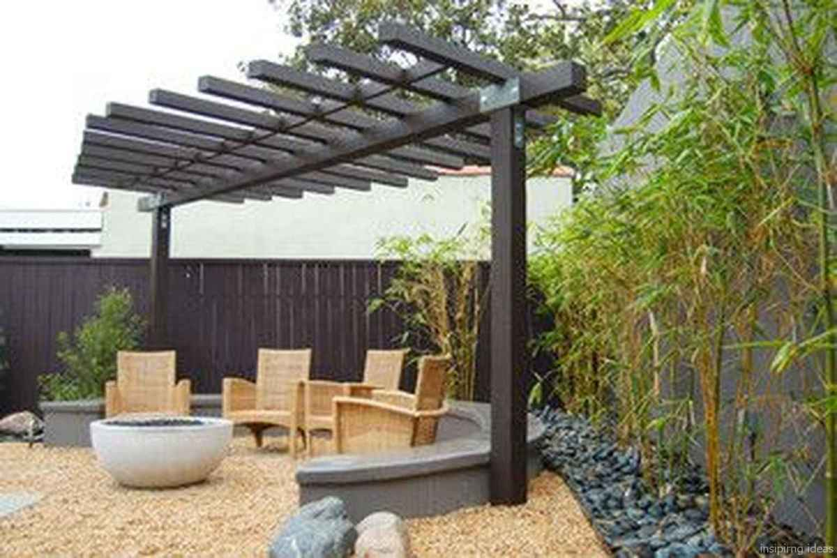 08 awesome gravel patio ideas with pergola