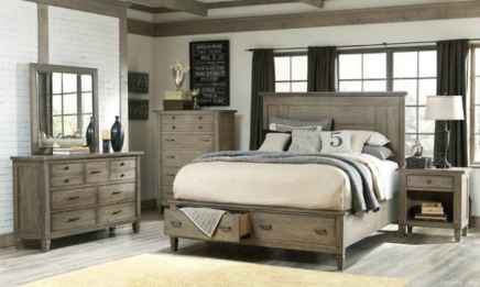 08 genius rustic storage bed design ideas