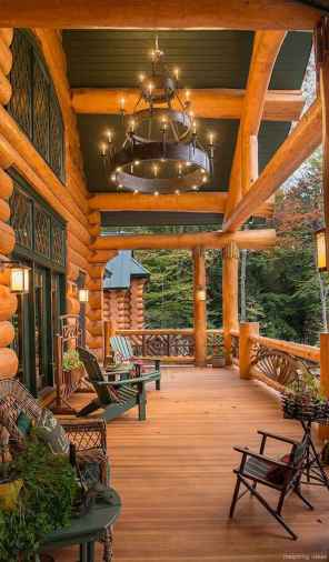 113 rustic log cabin homes design ideas
