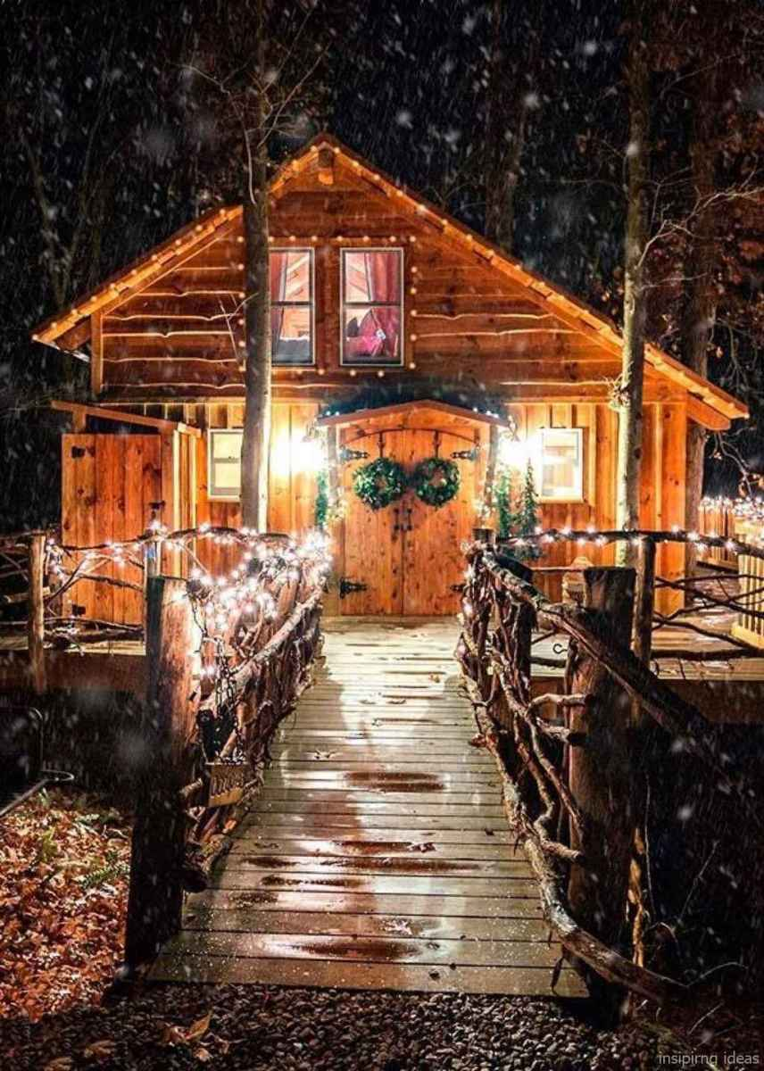 120 rustic log cabin homes design ideas