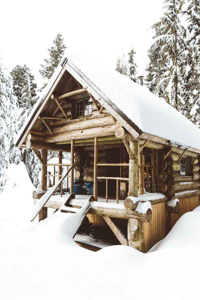 126 rustic log cabin homes design ideas