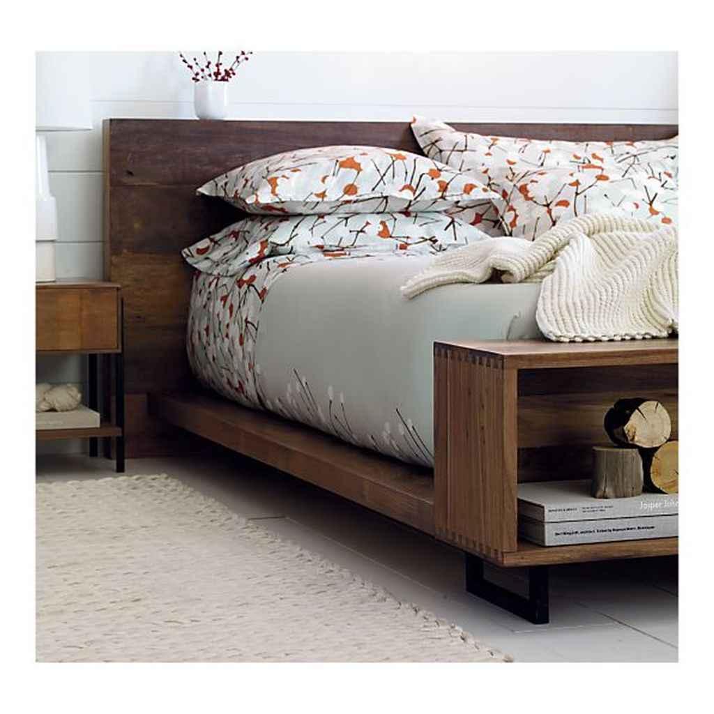 13 genius rustic storage bed design ideas