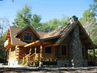 14 rustic log cabin homes design ideas