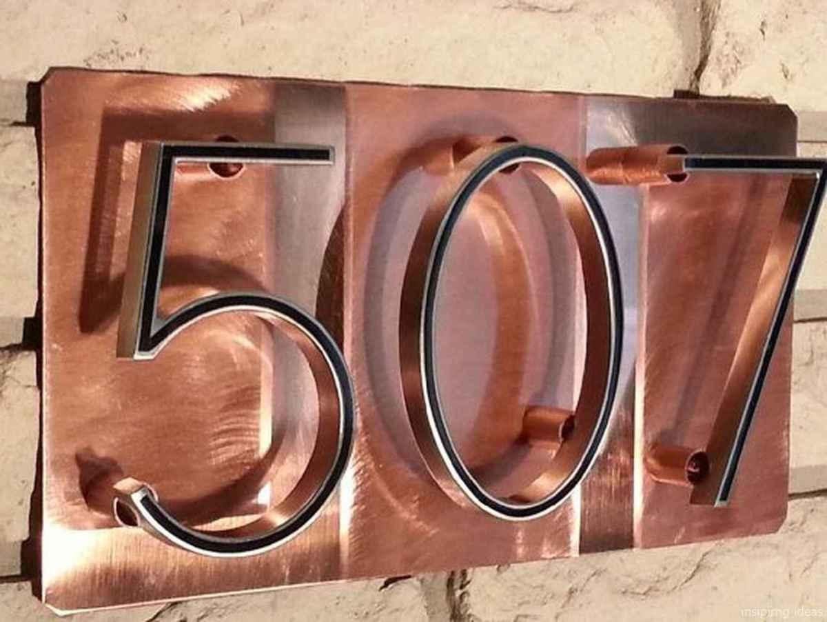 15 awesome diy modern address plate design ideas