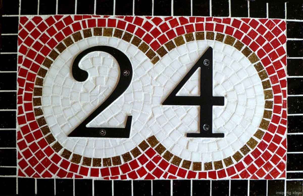 21 awesome diy modern address plate design ideas