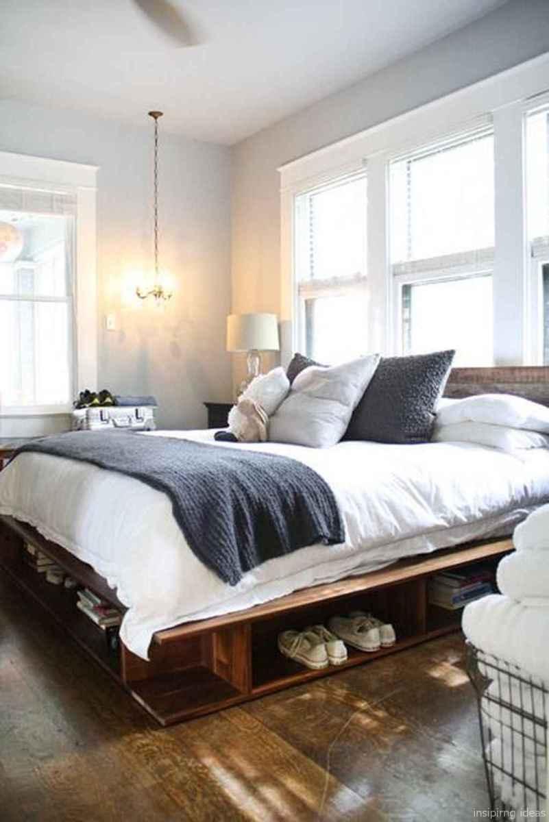 23 genius rustic storage bed design ideas