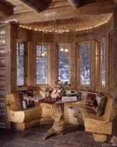 25 rustic log cabin homes design ideas