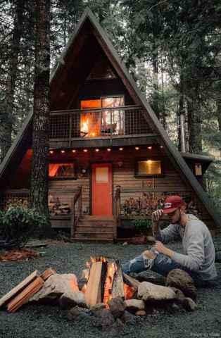 27 rustic log cabin homes design ideas