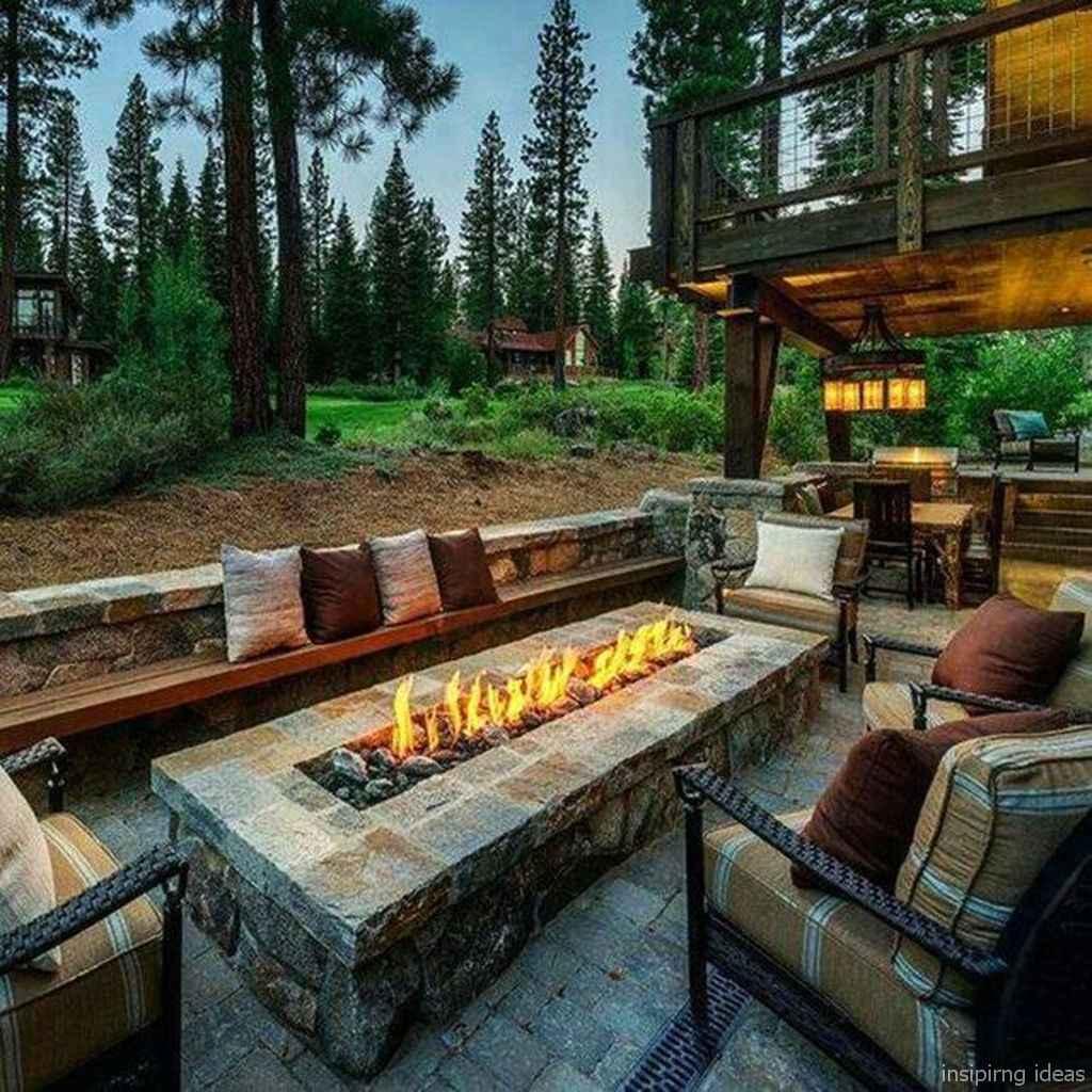 28 diy backyard fire pits design ideas