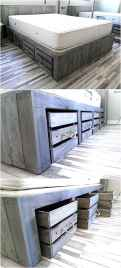 30 genius rustic storage bed design ideas