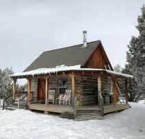 30 rustic log cabin homes design ideas