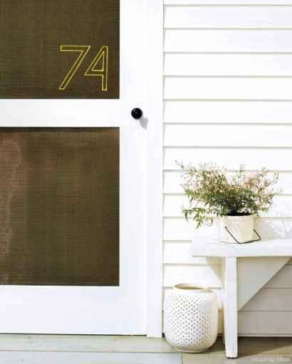 32 awesome diy modern address plate design ideas