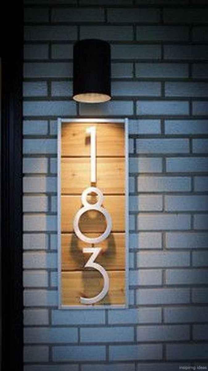 34 awesome diy modern address plate design ideas