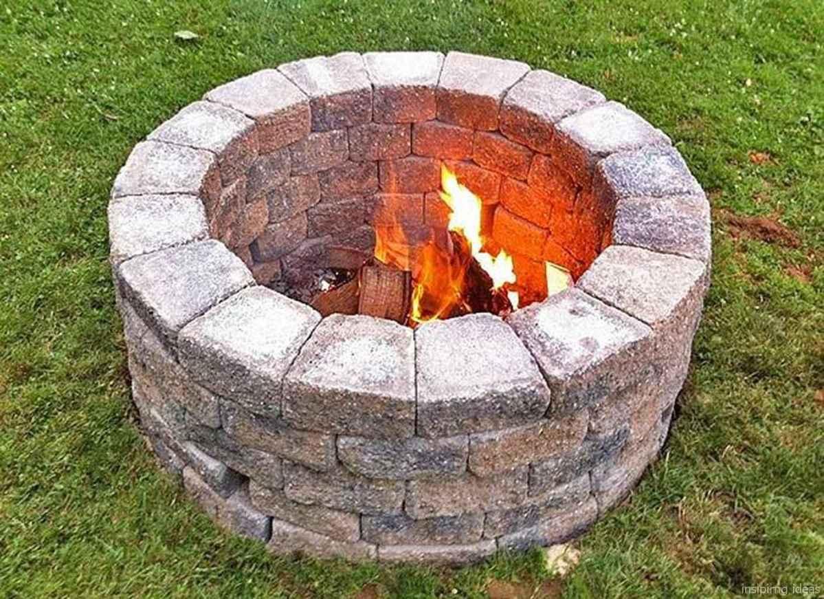 39 diy backyard fire pits design ideas