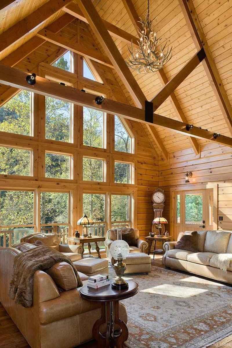 39 rustic log cabin homes design ideas