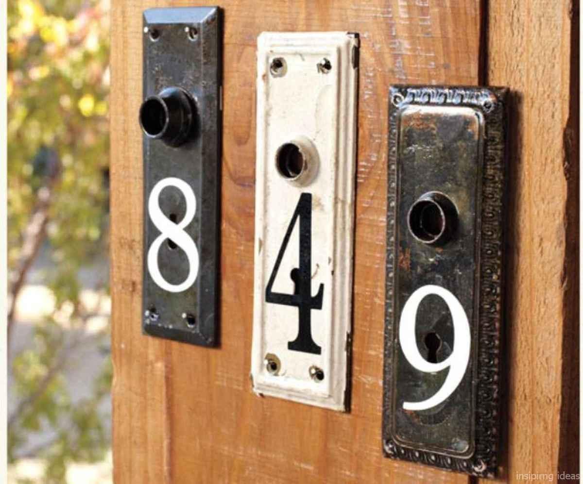 40 awesome diy modern address plate design ideas