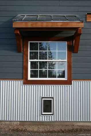 42 modern rustic window trim ideas
