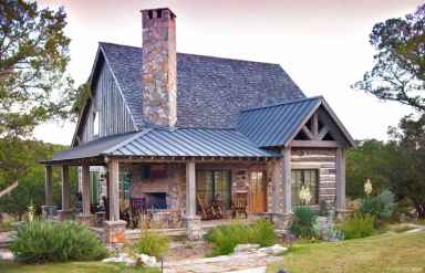 42 rustic log cabin homes design ideas