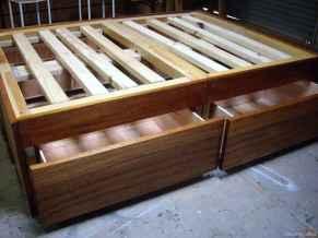43 genius rustic storage bed design ideas