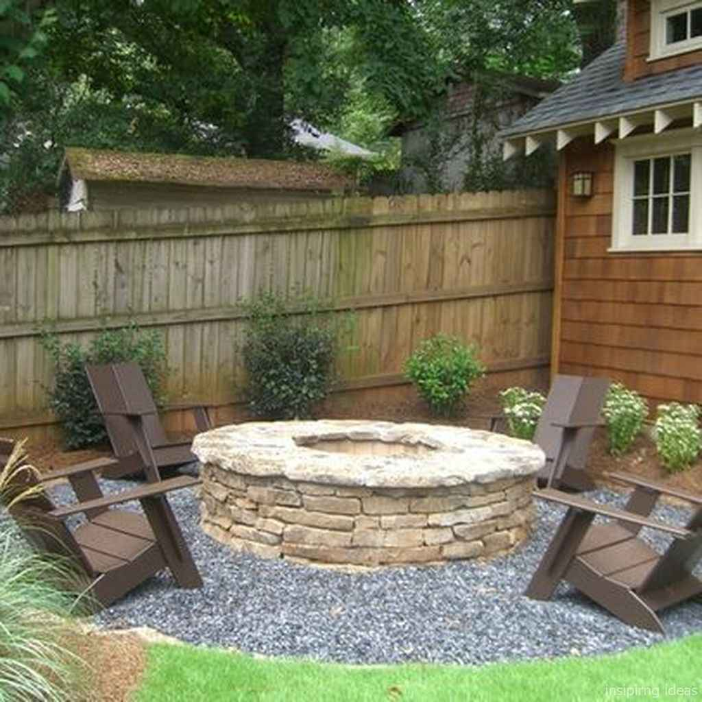 47 diy backyard fire pits design ideas
