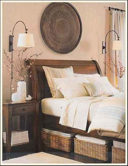 47 genius rustic storage bed design ideas