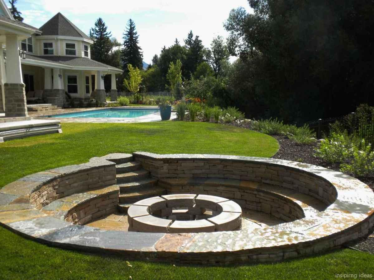 48 diy backyard fire pits design ideas