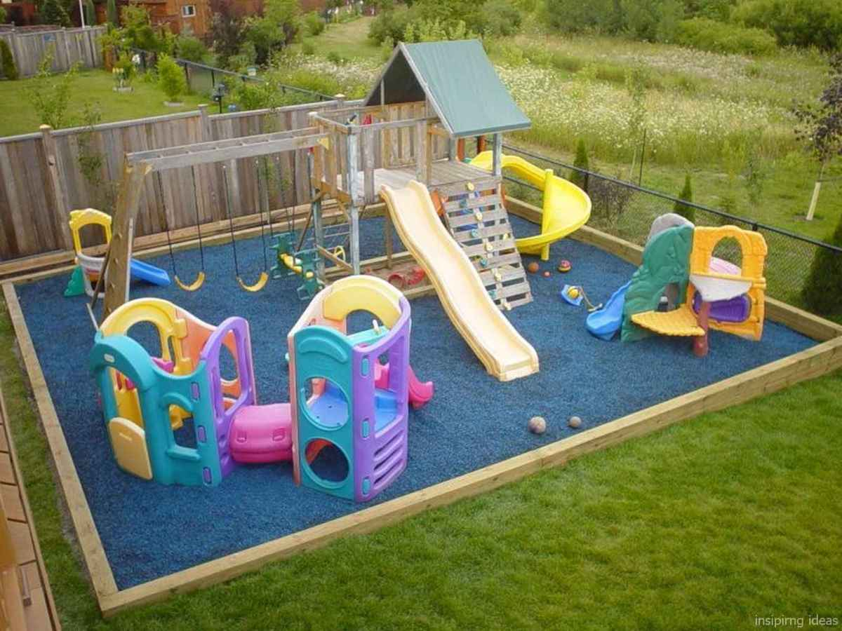 49 affordable playground design ideas for kids