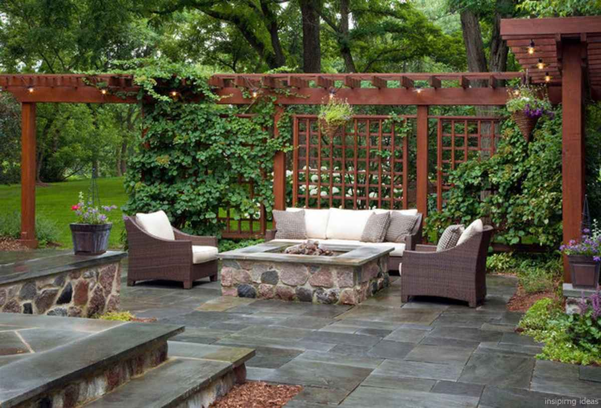 50 awesome gravel patio ideas with pergola