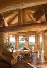 52 rustic log cabin homes design ideas