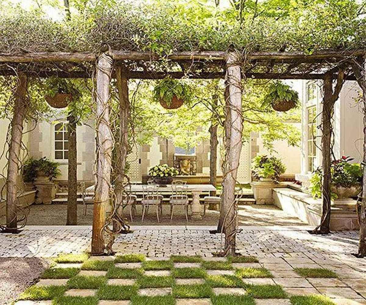 54 awesome gravel patio ideas with pergola