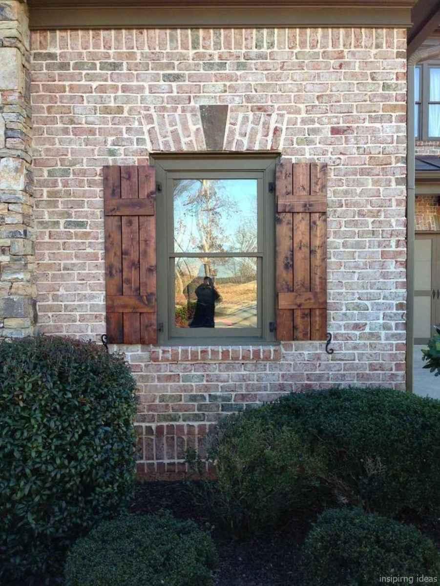 55 modern rustic window trim ideas