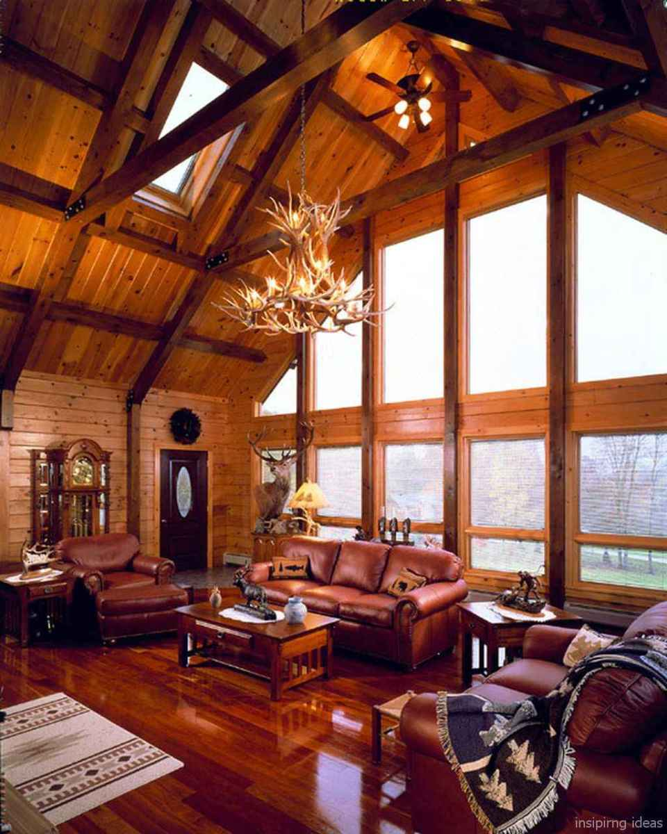 55 rustic log cabin homes design ideas